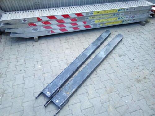 rampe di carico e prolunghe per forche