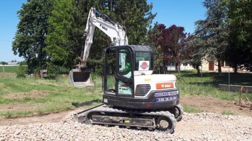 Escavatore in azione