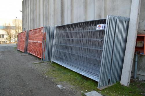 Pannelli recinzioni cantieri