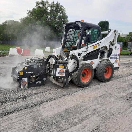 Fresa asfalto